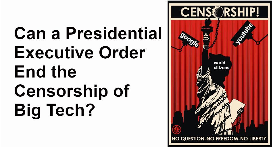 Social Media's censorship of all opposition viewpoints, facebook, google, twitter