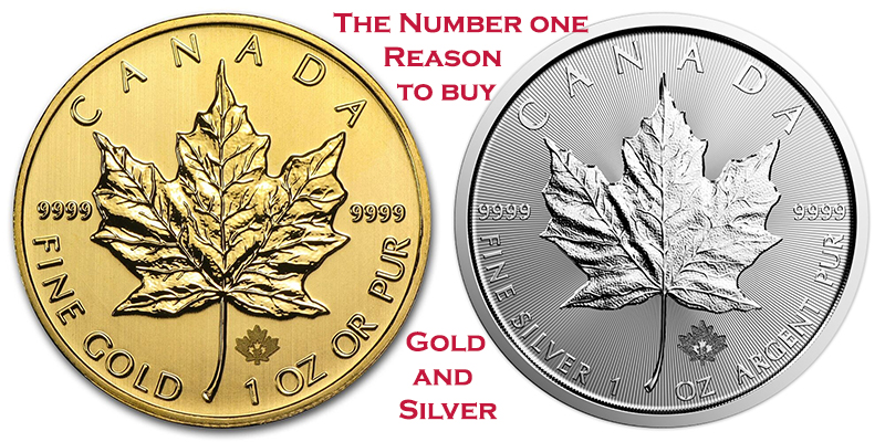 the number one reason to buy gold and silver