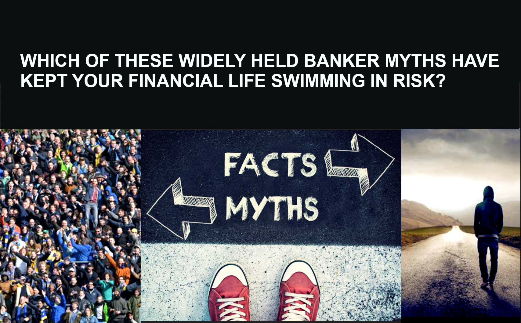 Most widely believed finance and banking myths
