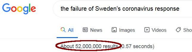google search results for coronavirus