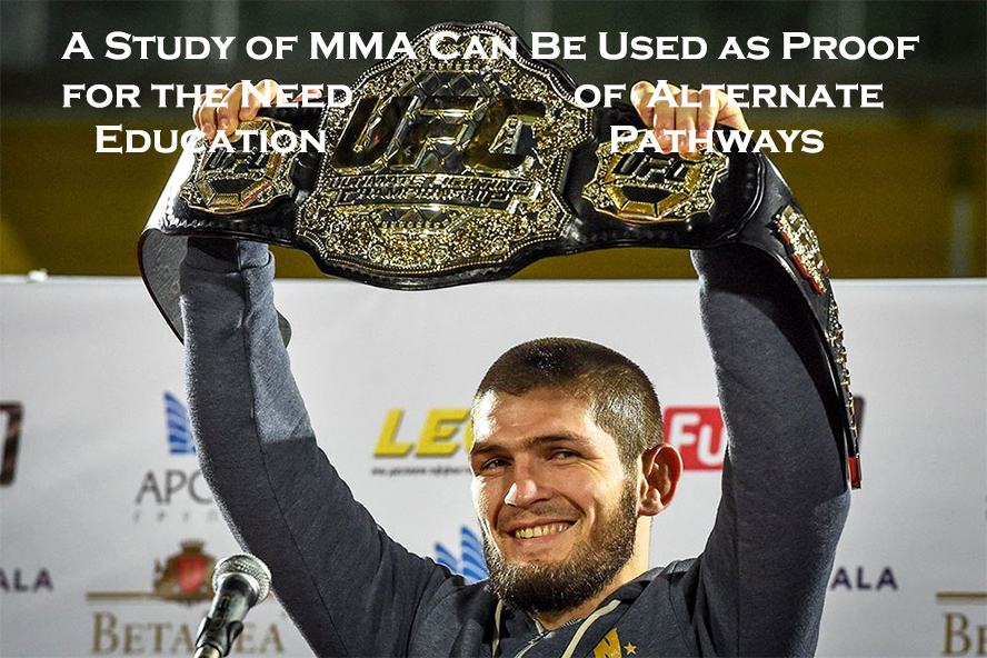 khabib nurmagomedov ufc champion and alternative education pathways