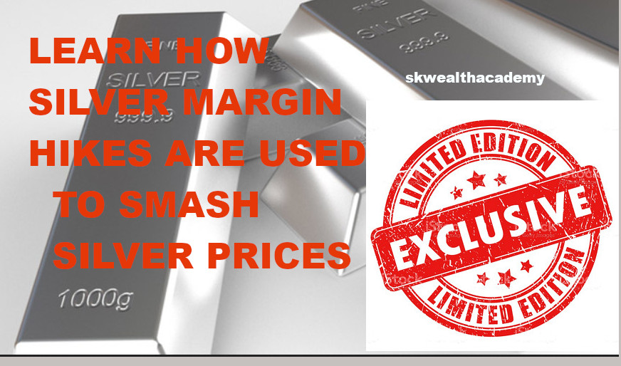 how silver margin hikes create silver price smashes