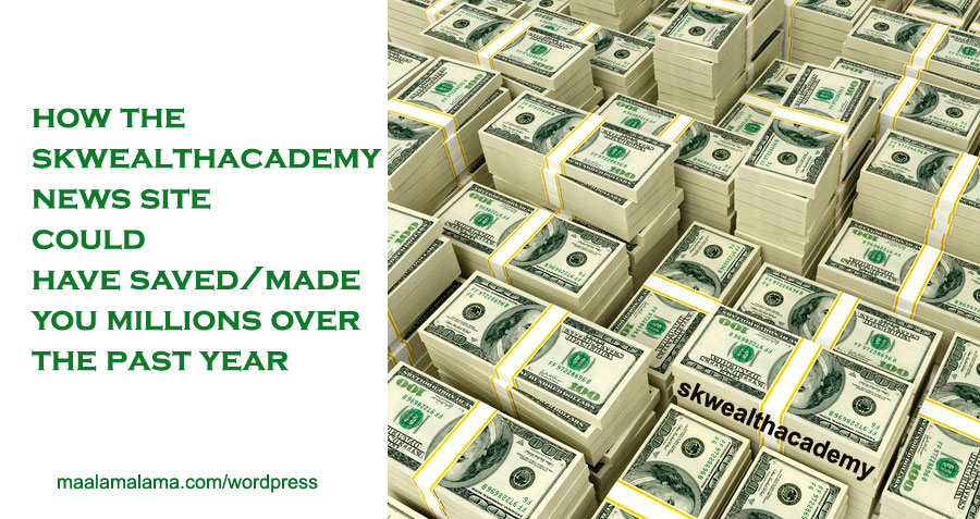 skwealthacademy documentation of predicting all the steps that led up to the US stock market crash and global financial crisis of 2020