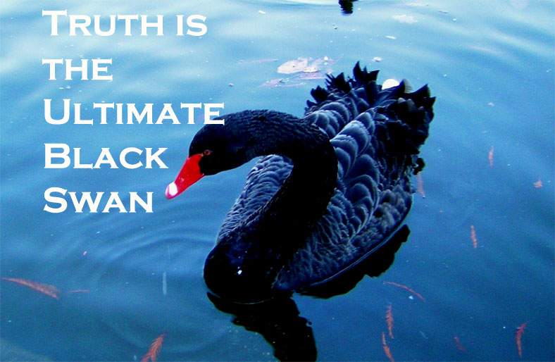 truth is the ultimate black swan in global financial markets